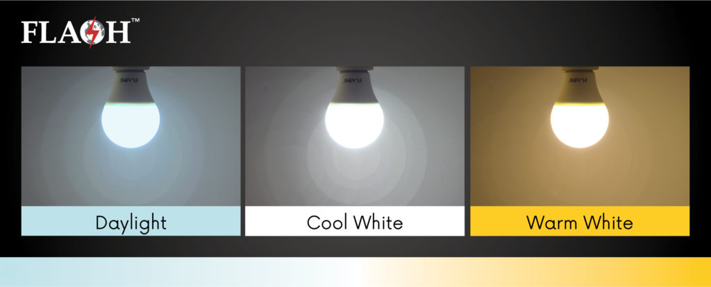 How to select colour temperature
