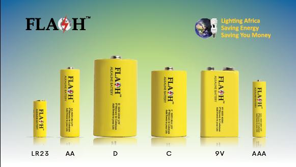 Flash Alkaline Batteries