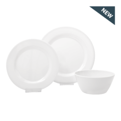 Melamine Dinner Set (white)