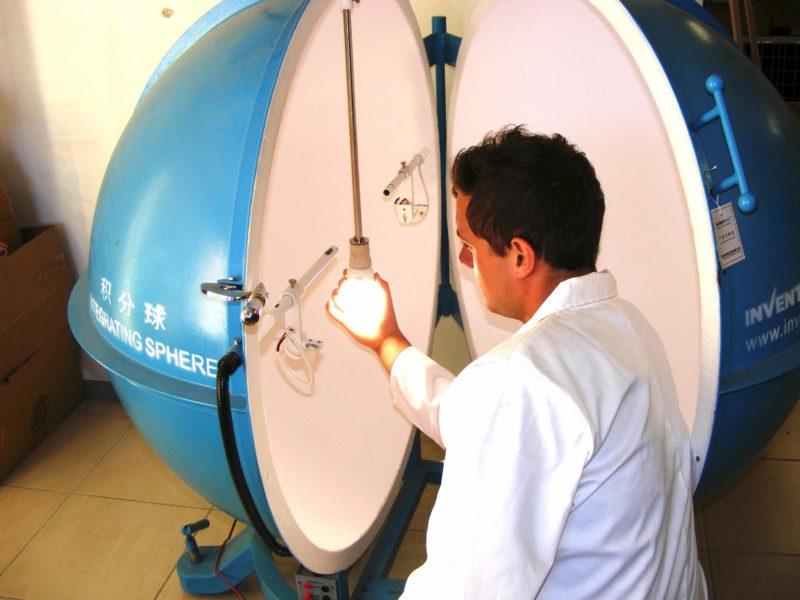 Sphere testing