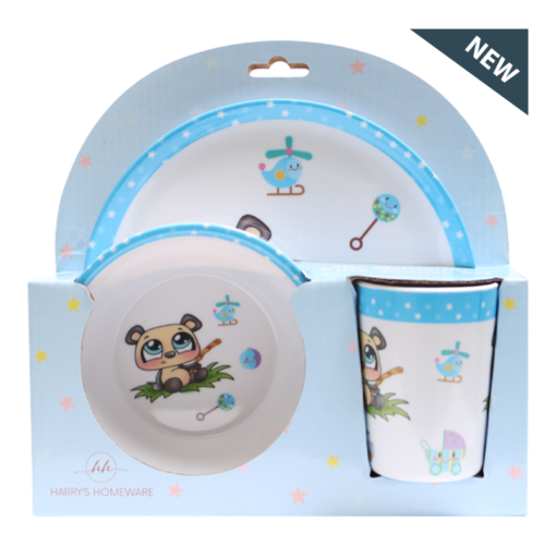 Kids Dinnerware Set (Panda)