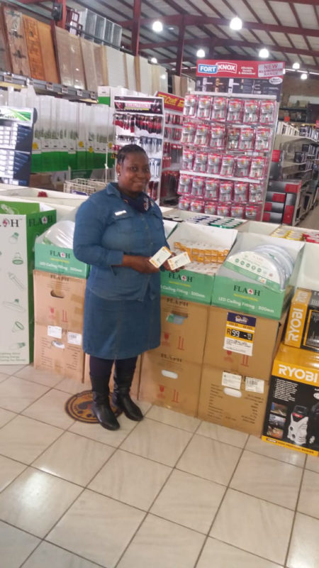 Tsakani Maphophe - SMS Game Winner